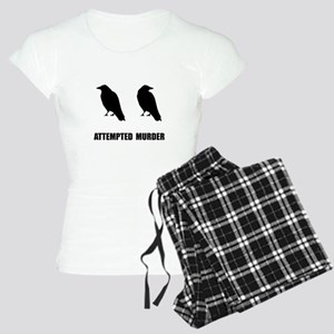 Attempted Murder Of Crows Women's Light Pajamas