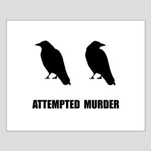Attempted Murder Of Crows Small Poster