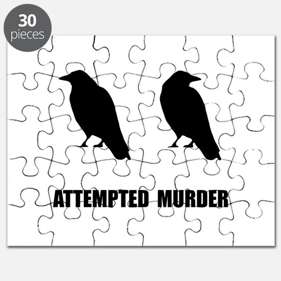 Attempted Murder Of Crows Puzzle