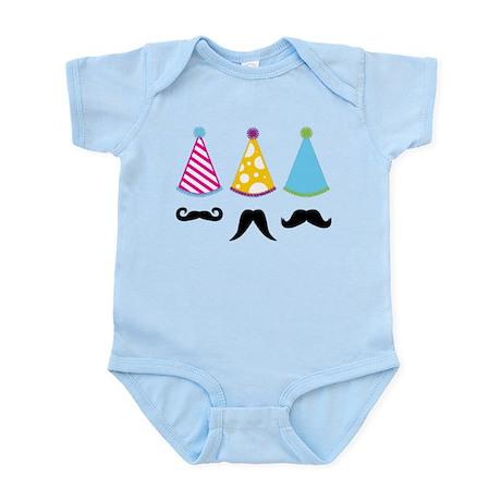 Party Mustache Infant Bodysuit
