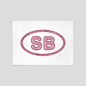 SB Pink 5'x7'Area Rug