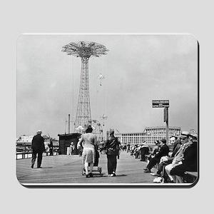 Coney Island Parachute Jump 1826579 Mousepad