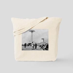 Coney Island Parachute Jump 1826579 Tote Bag