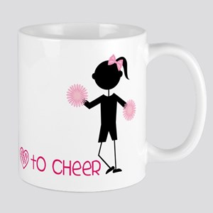 Love To Cheer Mug