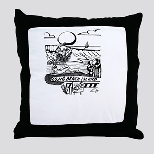 LBI Island Style Throw Pillow