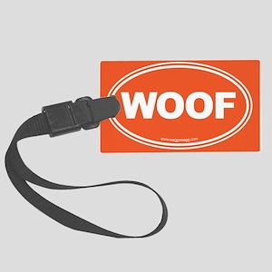 WOOF! Large Luggage Tag