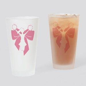 Cheer Squad Drinking Glass