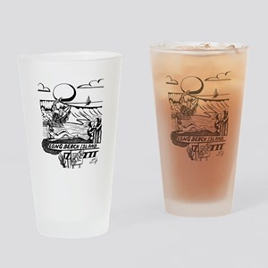 LBI Island Style Drinking Glass