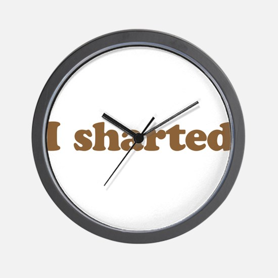 I sharted Wall Clock