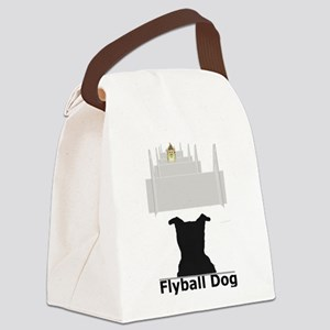 Jumps w Dogs Canvas Lunch Bag