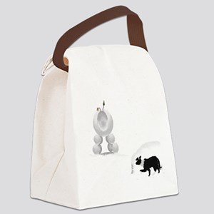 snowsheep Canvas Lunch Bag