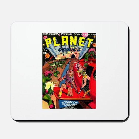 Alien Invaders Mousepad