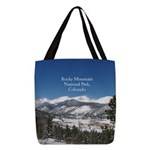 Rocky Mountain National Park Polyester Tote Bag