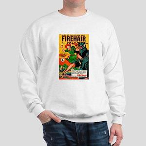 Redhead Warrior Woman Sweatshirt
