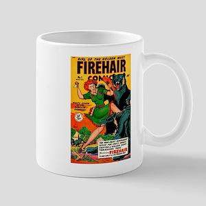 Redhead Warrior Woman Mug