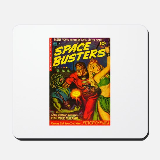 Retro Space Adventure Mousepad