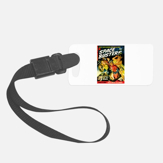 Space Warrior Women Luggage Tag