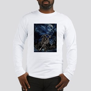GRIM REAPER AT NIGHT Long Sleeve T-Shirt