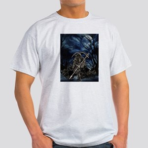 GRIM REAPER AT NIGHT Light T-Shirt