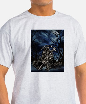 GRIM REAPER AT NIGHT T-Shirt