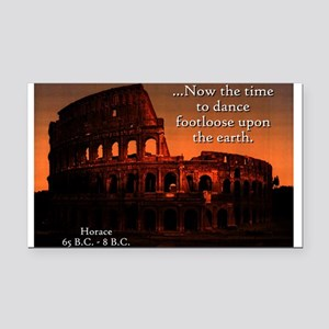 Now The Time - Horace Rectangle Car Magnet