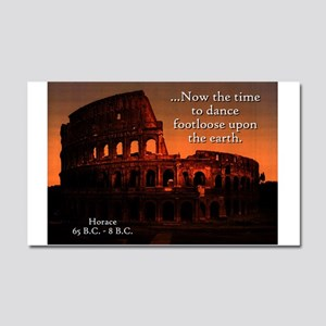 Now The Time - Horace Car Magnet 20 x 12