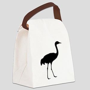 Sandhill Crane Canvas Lunch Bag