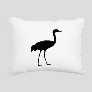 Sandhill Crane Rectangular Canvas Pillow
