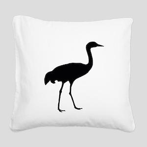 Sandhill Crane Square Canvas Pillow