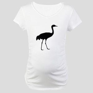Sandhill Crane Maternity T-Shirt
