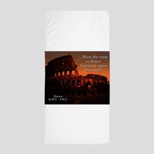Now The Time - Horace Beach Towel