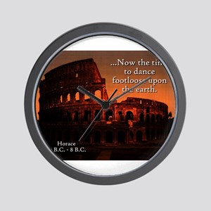 Now The Time - Horace Wall Clock