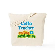 Cello Teacher Extraordinaire Tote Bag