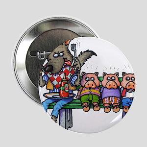 "THREE LITTLE PIGS 2.25"" Button"