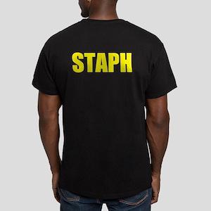 Staph Men's Fitted T-Shirt (dark)