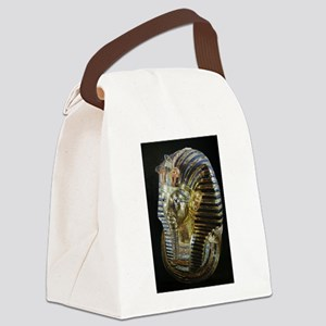 Tutankhamon's Golden Mask Canvas Lunch Bag
