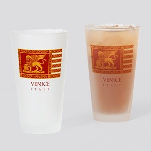 Venice Flag Drinking Glass