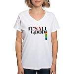 All Good SA Women's V-Neck T-Shirt