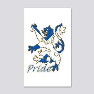 Scots Lion Rampant Pride 35x21 Wall Decal