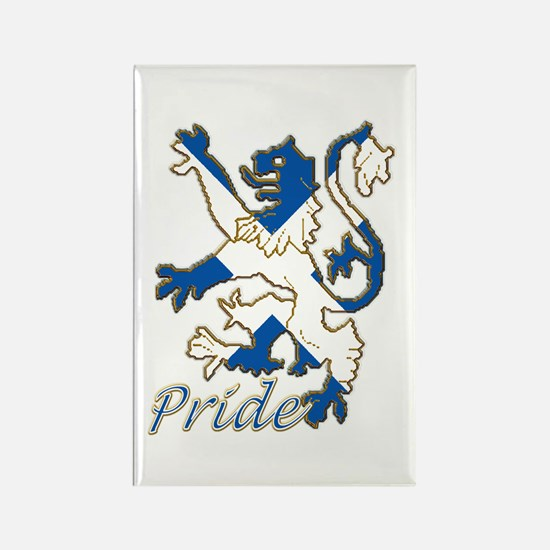 Scots Lion Rampant Pride Rectangle Magnet