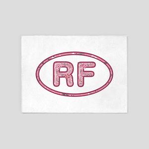 RF Pink 5'x7'Area Rug
