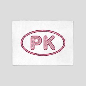 PK Pink 5'x7'Area Rug