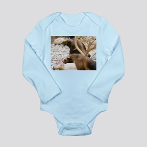 Wolverine Long Sleeve Infant Bodysuit
