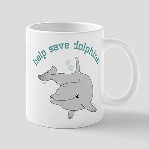 Help Save Dolphins Mug