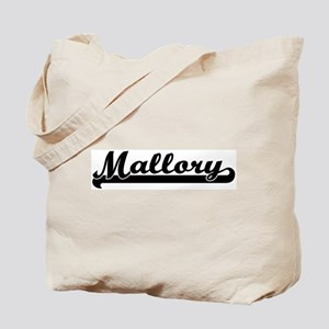 Black jersey: Mallory Tote Bag