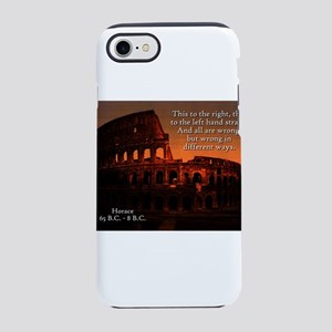 This To The Right - Horace iPhone 7 Tough Case