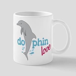 Dolphin Love Mug