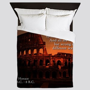 This To The Right - Horace Queen Duvet