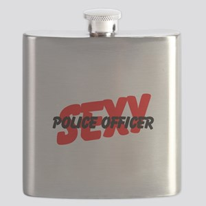 Sexy Police Officer Flask