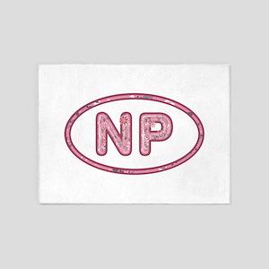 NP Pink 5'x7'Area Rug